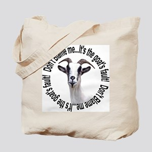 The Goat's Fault Tote Bag
