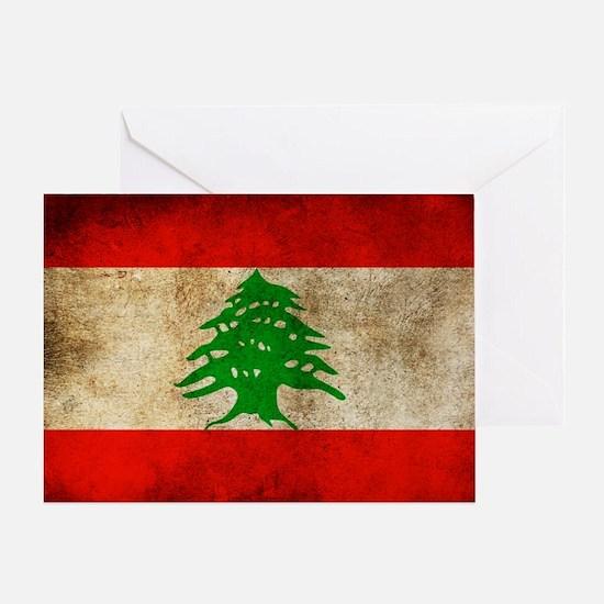Liban Greeting Card