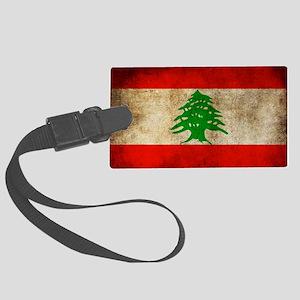 Liban Large Luggage Tag