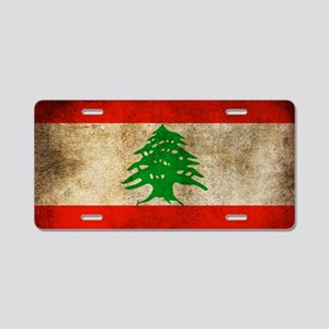 Liban Aluminum License Plate