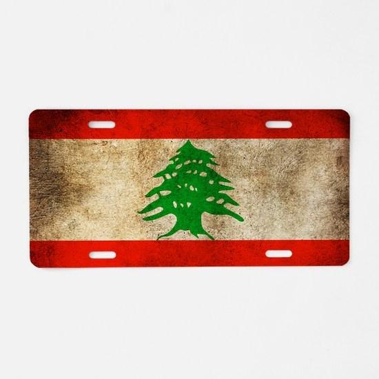 Liban Aluminum License Plate