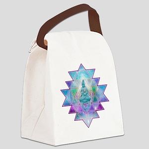 cosmic_Sri_Yantra1 Canvas Lunch Bag