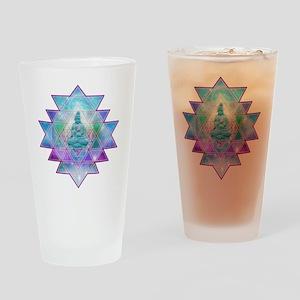 cosmic_Sri_Yantra1 Drinking Glass