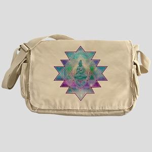 cosmic_Sri_Yantra1 Messenger Bag