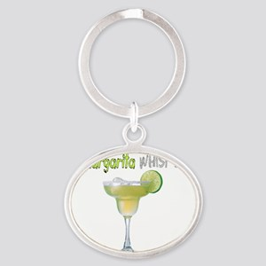 The Margarita Whisperer Oval Keychain