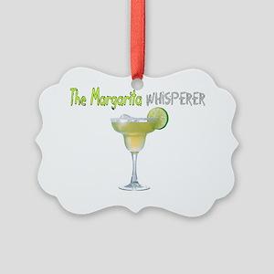 The Margarita Whisperer Picture Ornament