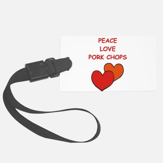 pork,chop Luggage Tag