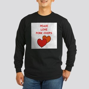 pork,chop Long Sleeve T-Shirt