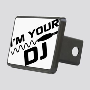 IM YOUR DJnou Rectangular Hitch Cover