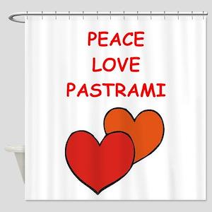 pastrami Shower Curtain