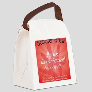 lub_tshirt_front Canvas Lunch Bag