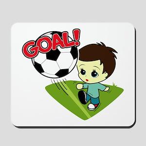 Soccer Boy Mousepad
