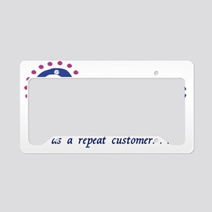 2-Oceanic airline customer License Plate Holder