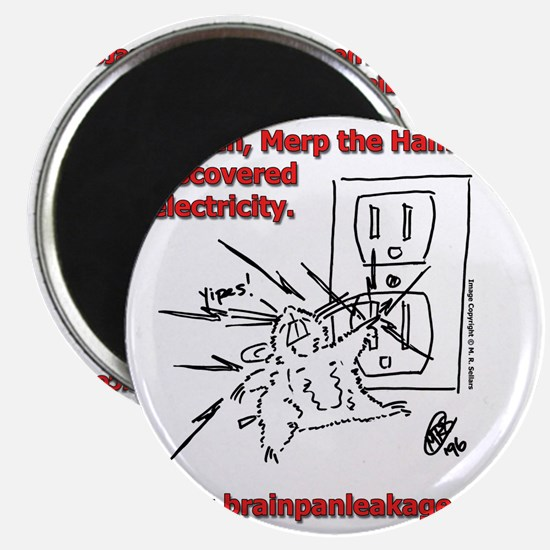 Electricity Tee Magnet