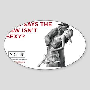 SEXY_STICKER Sticker (Oval)