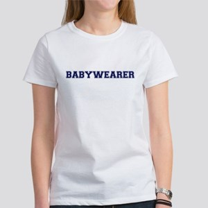 Babywearer Collegiate Women's T-Shirt