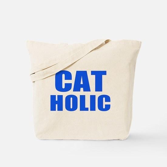 Cat Holic Tote Bag