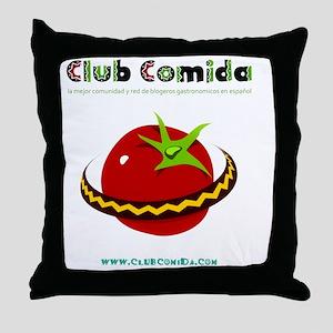 clubcomida_apparel-logo-for-store-pro Throw Pillow