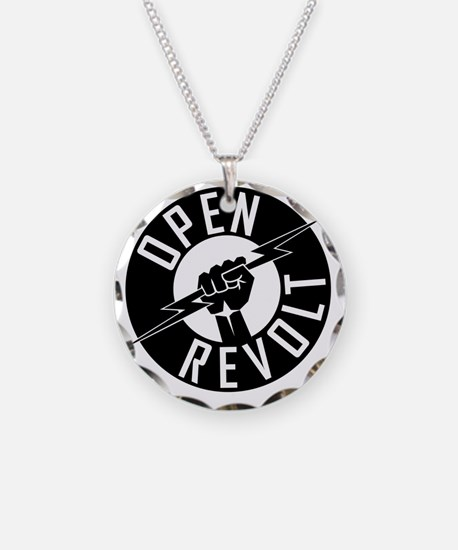 OpenReVoltLogo_black_on_clea Necklace