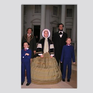 Lincoln Family Postcards (Package of 8)
