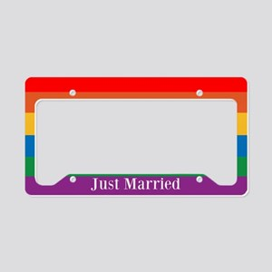 Gay Marriage License Plate Holder