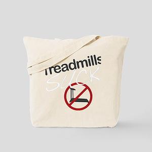 treadmill_red_dark_large Tote Bag
