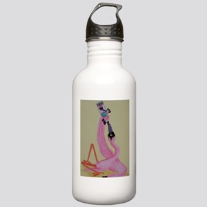 Drunk Flamingo Stainless Water Bottle 1.0L