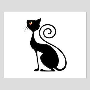 Black Cat Vintage Style Design Posters