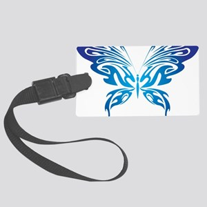 Butterfly 19 Large Luggage Tag