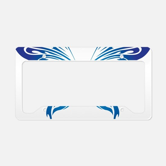 Butterfly 19 License Plate Holder