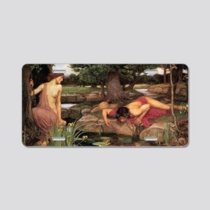 Echo and Narcissus Aluminum License Plate