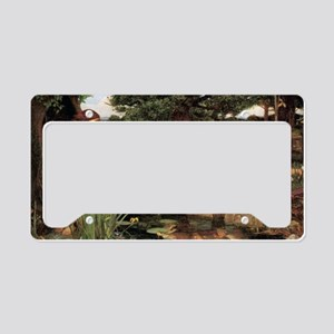 Echo and Narcissus License Plate Holder