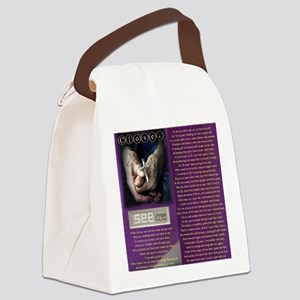 Look Closer See ME Canvas Lunch Bag