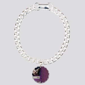 Look Closer See ME Charm Bracelet, One Charm