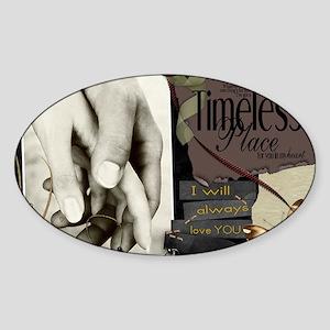 Timeless Sticker (Oval)