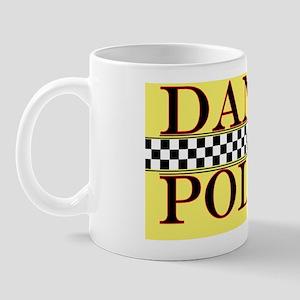 dance police poster gold copy Mug