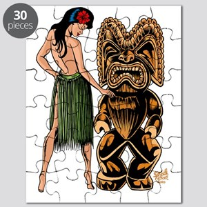tiki  wahine-Lg-color-001  copy-A- Puzzle