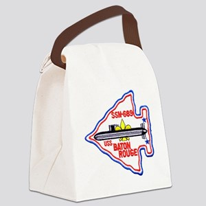 brouge patch Canvas Lunch Bag
