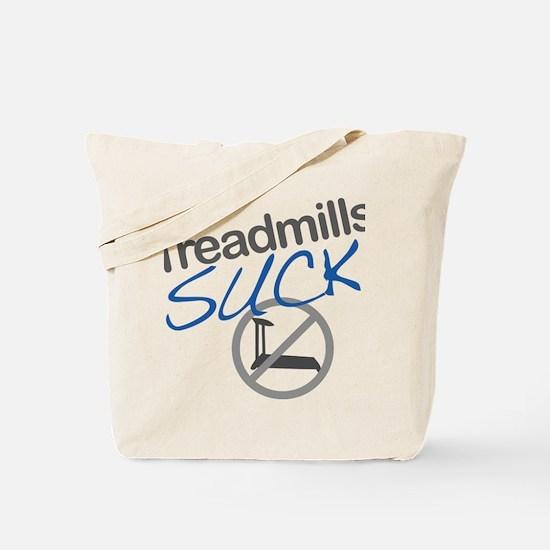 treadmill_blue_large Tote Bag