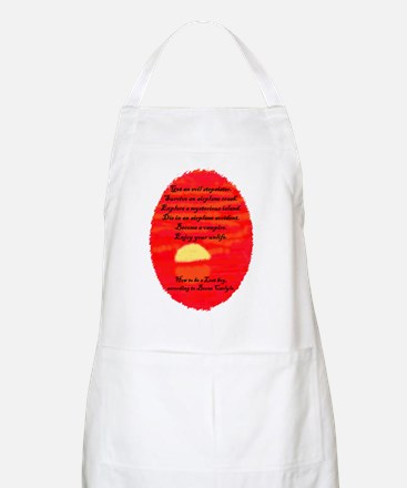 Boone 8x10 Lost oval orange redux 2 Apron