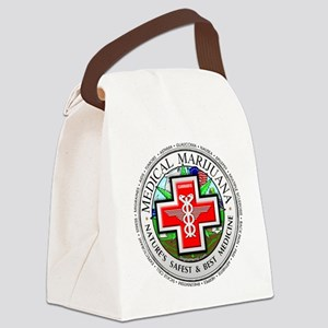 medmlogobig36w Canvas Lunch Bag