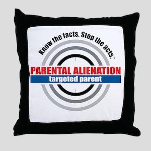 PA-target Throw Pillow