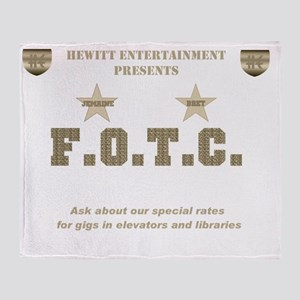 Hewitt stars sepia trans II Throw Blanket