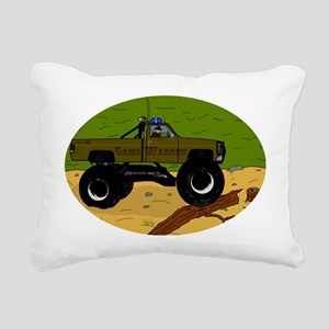 Gamewardeninwoods2 Rectangular Canvas Pillow