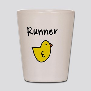 Runnerchick Shot Glass