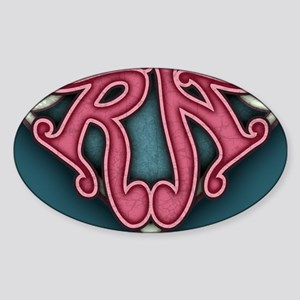 super-rn2-BUT Sticker (Oval)