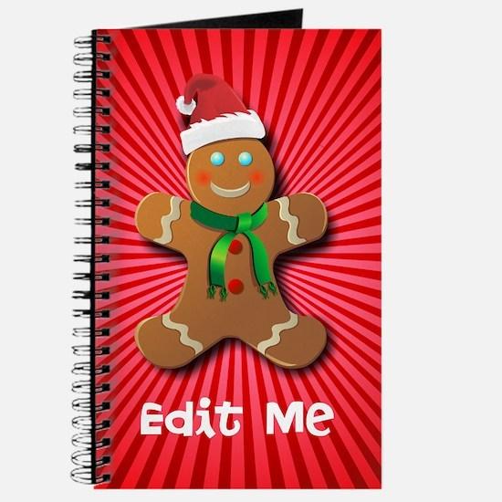 Cute December holidays Journal