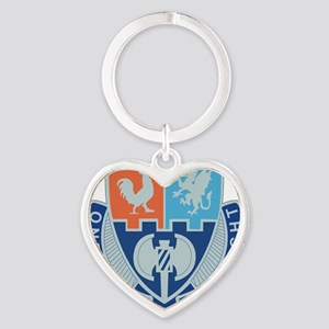 3RD IN DIV-4TH BCT-SPECIAL TROOPS B Heart Keychain