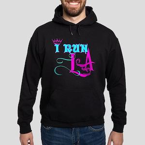 run LA Hoodie (dark)