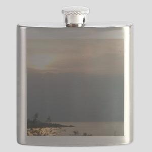 Sea of Galilee At Daybreak Crop Flask